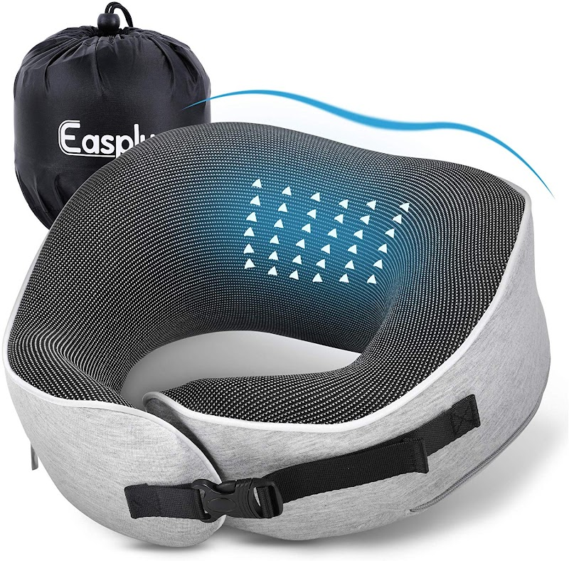 50% off Memory Foam Travel Neck Pillow