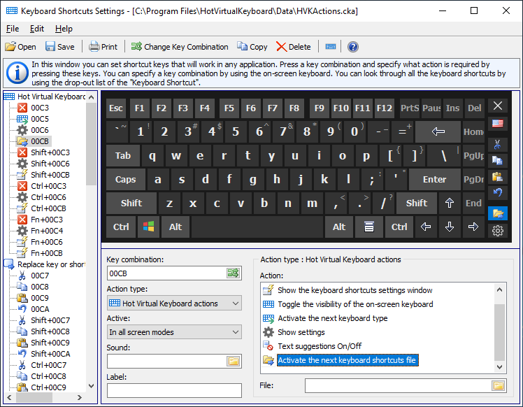 Hot Virtual Keyboard software