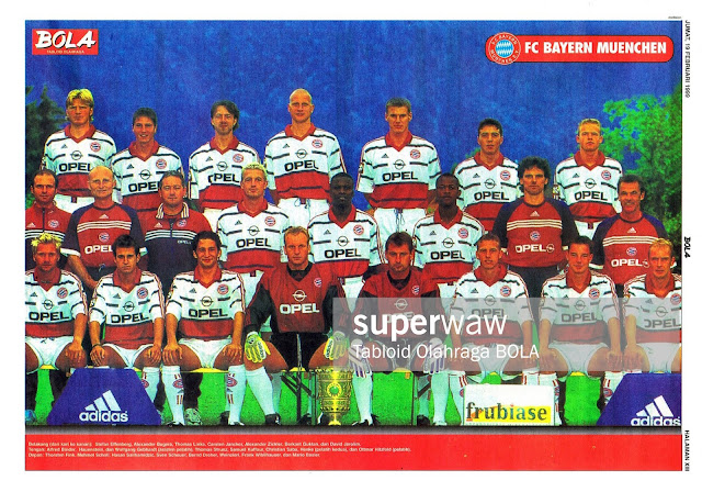 FULL TEAM SQUAD BAYERN MUENCHEN