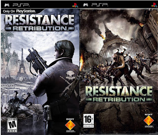 Resistance Retribution PSP free download full version