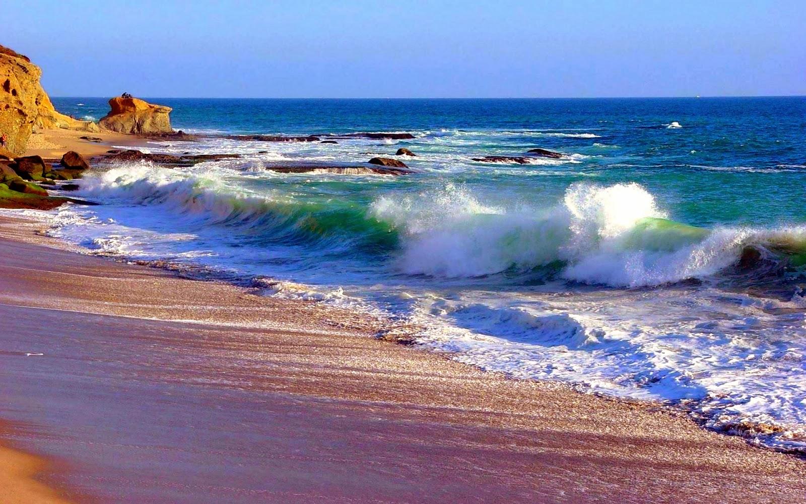 the ocean wave beach - photo #24
