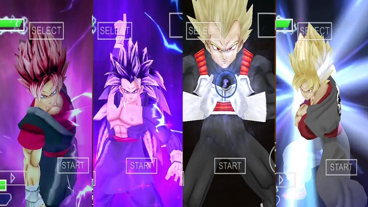 Dragon Ball Z Evil Goku and Vegeta