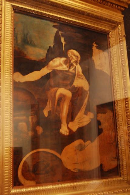 Saint-Jérôme, Leonard de Vinci