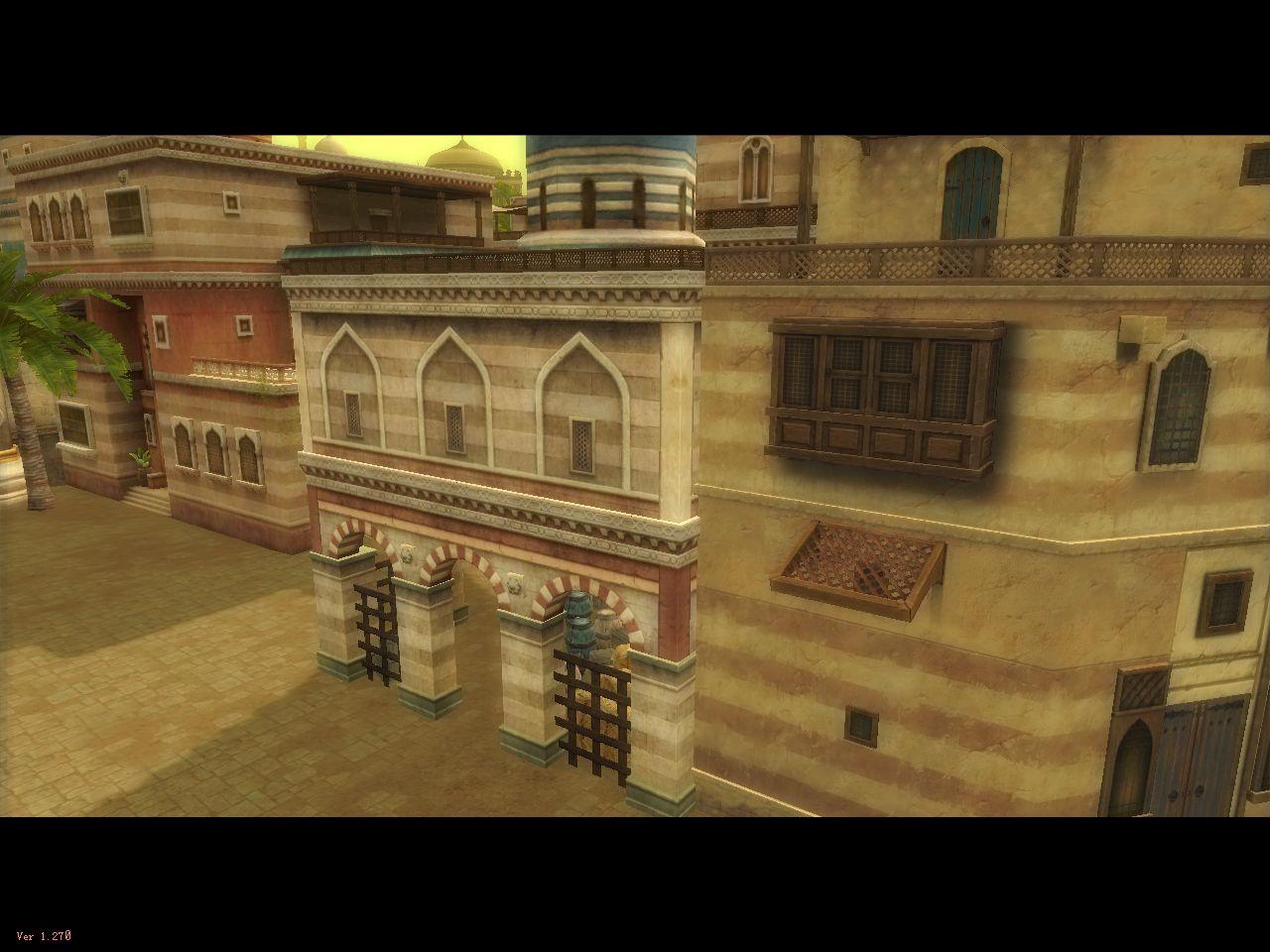 Silkroad Secrets: Arabian Region Login Screen Pictures