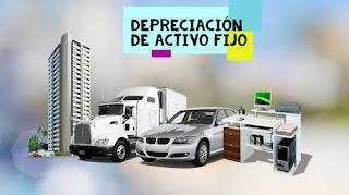 Depreciación de activo fijo