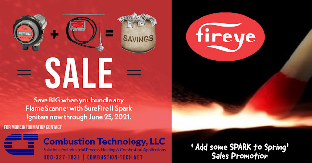 Savings for Fireye Flame Scanners