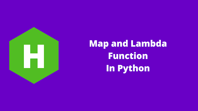 HackerRank Map and Lambda Function in python problem solution