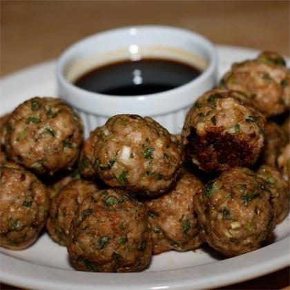 Chinese-Style Turkey Meatballs