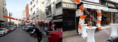 Balon süsleme ile işyeri açılış organizasyonlarınızda muhteşem bir görüntü oluşturabilirsiniz. Balon izmir süsleme fiyatları için bizi arayın. 0554 709 07 25 Ses sistemi kiralama, palyaço izmir, açılış organizasyonu izmir.
