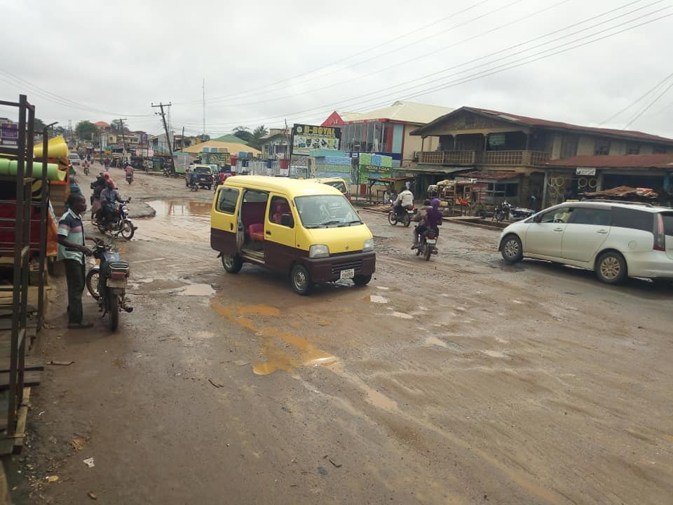 Ogbomoso Residents Cry Out To Oyo State Gov Over The State Of Roads (Pictures) 6