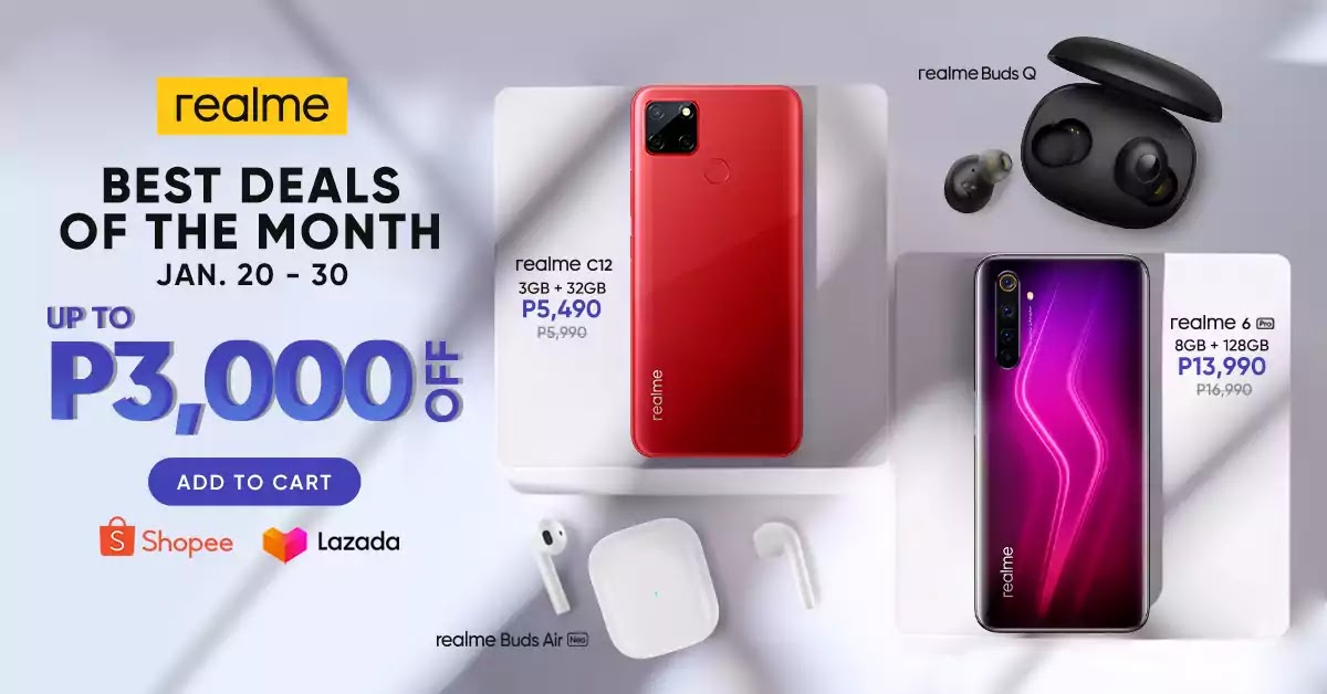realme best deals of the month