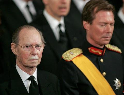 Elhunyt János korábbi luxemburgi nagyherceg