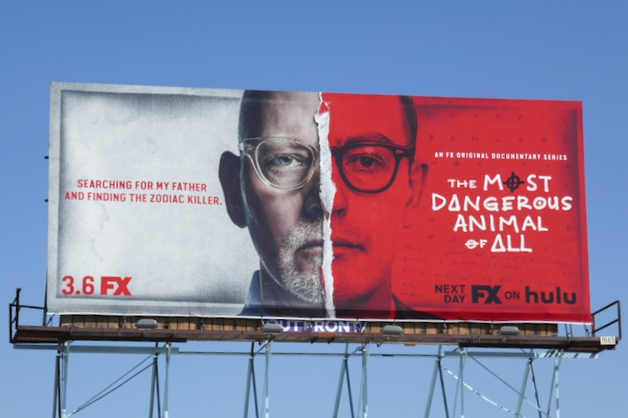 Most Dangerous Animal Of All series billboard