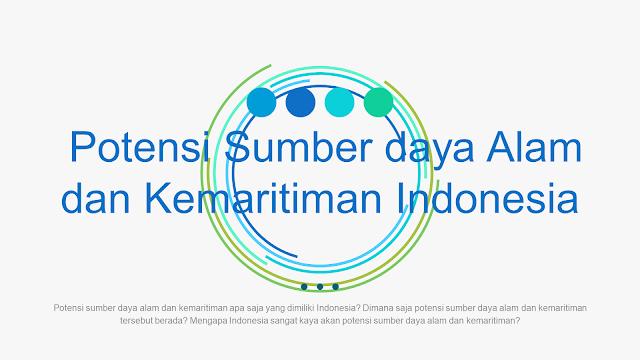 Media Belajar IPS - Potensi Sumber Daya Alam dan Kemaritiman Indonesia | BAB 1 - Kelas 7