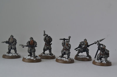 Iron Hills Dwarf Warriors with Mattocks