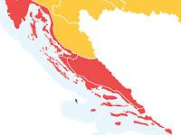 crveni stupanj pripravnosti slike otok Brač Online