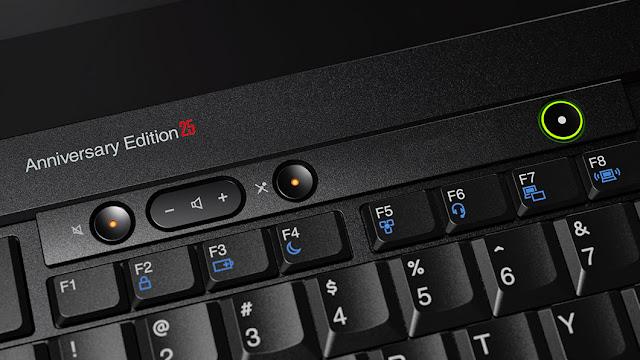 Lenovo celebra o 25º aniversário do ThinkPad com uma reedição retro do modelo original de 1992.