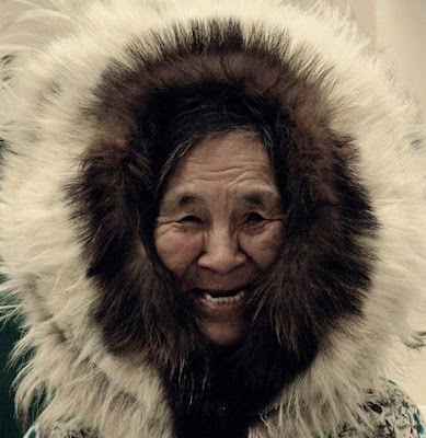 old Inuit woman