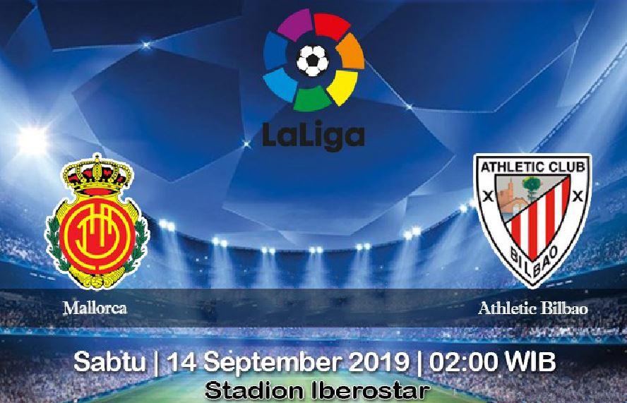 Prediksi Mallorca vs Athletic Bilbao 14 September 2019