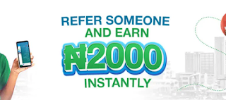 Standard Chartered Bank refer and earn N2000