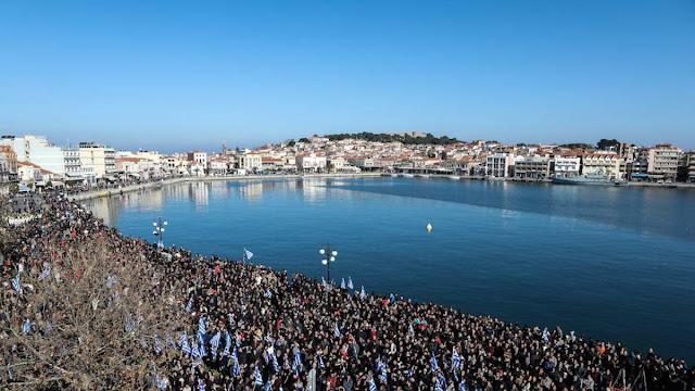 Με γενική απεργία απαντούν τα νησιά του Β. Αιγαίου στο όργιο καταστολής