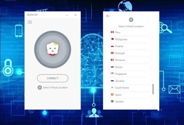 Betternet Premium 5.2.0 (Repack) - VPN đơn giản