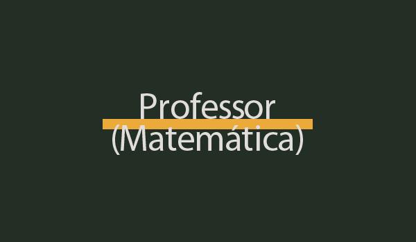 Prova de Concurso para Professor (Matemática) com Gabarito