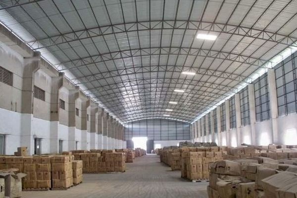 Temporary warehouses of textile industry