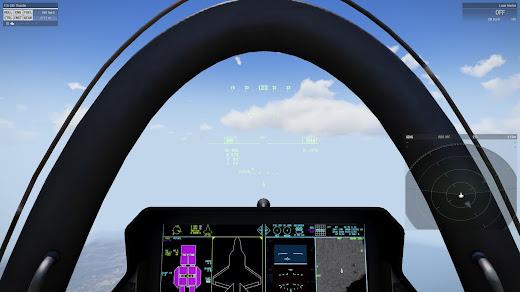 Arma3用F/A-35E MODで計器の改良
