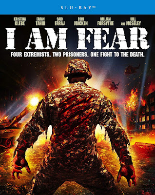 Cover art for Scream Factory's new Blu-ray of I AM FEAR.