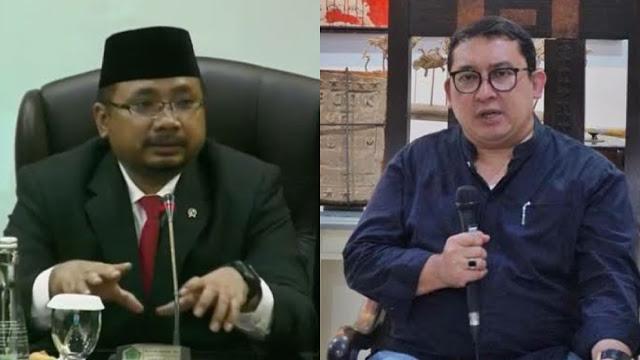 Singgung Populisme Islam, Yaqut Ditantang Debat Terbuka oleh Fadli Zon