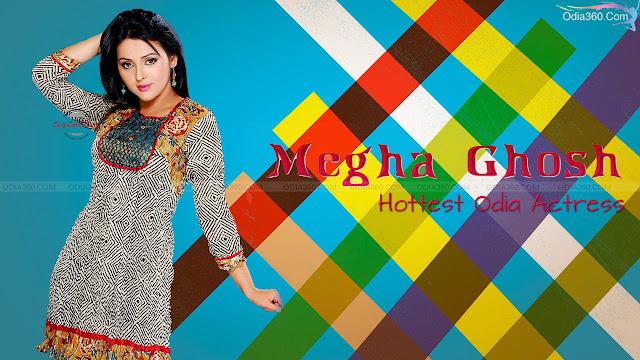 Megha Ghosh Odia Bengali Actress Desi Look HD Wallpaper Download