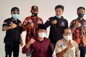 Ormas PP, BPPKB Banten, dan Karang Taruna Bantu Pelaksanaan Pembagian Bansos di Desa Pisangan Jaya