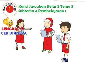 Kunci Jawaban Kelas 2 Tema 3 Subtema 4 Pembelajaran 1 www.simplenews.me
