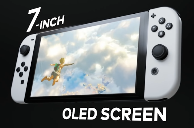 Nintendo Switch (OLED Model) 7-inch screen Skyward Sword The Legend of Zelda