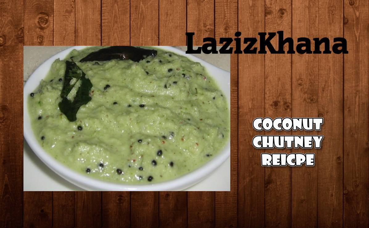 Green Coconut (Hari Nariyal) Chutney Recipe in Roman English