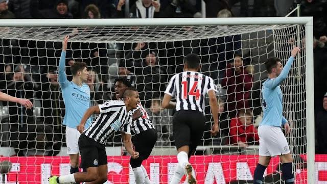 Hasil Liga Inggris: City Tumbang di Kandang Newcastle