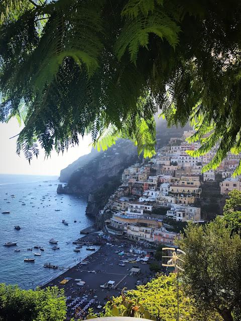 Paisagens maravilhosas, Positano, Itália