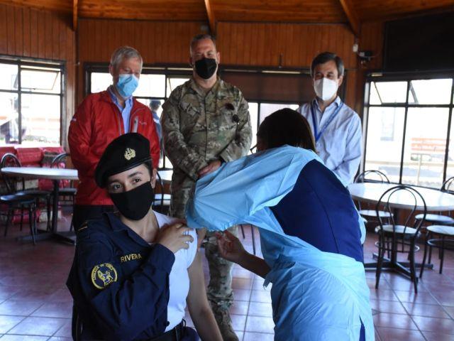 Vacunación Personal de Armada