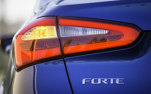 2014 Kia Forte Rear Lamp
