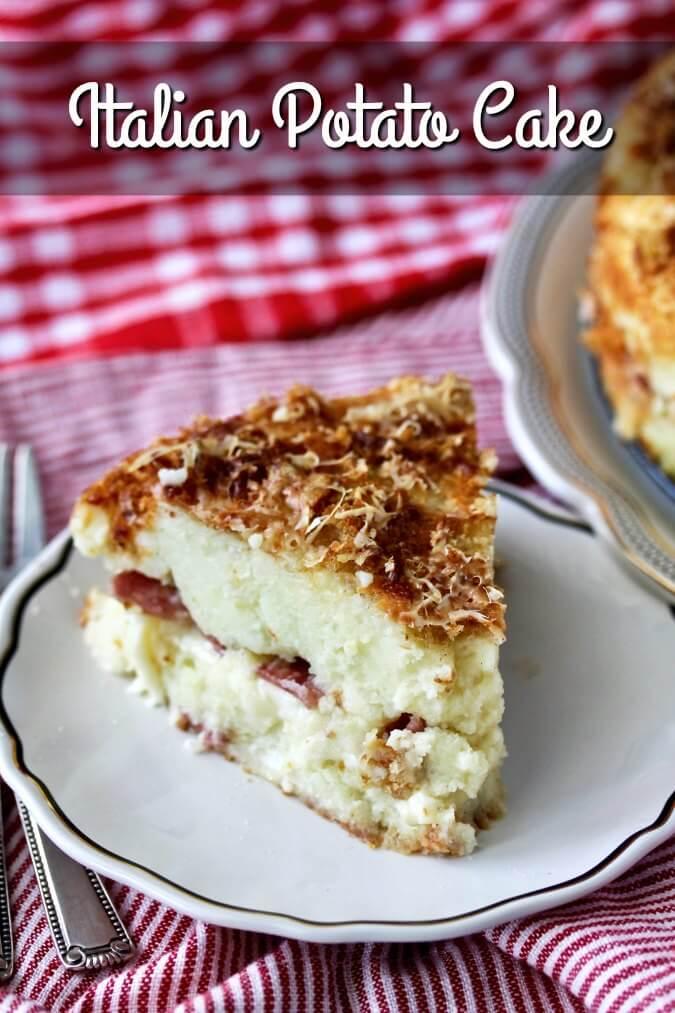 Italian Potato Cake (Gattò di Patate)