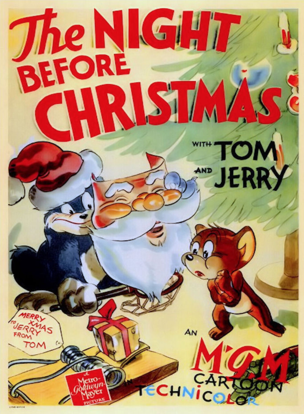 The Night Before Christmas (1941) ταινιες online seires oipeirates greek subs