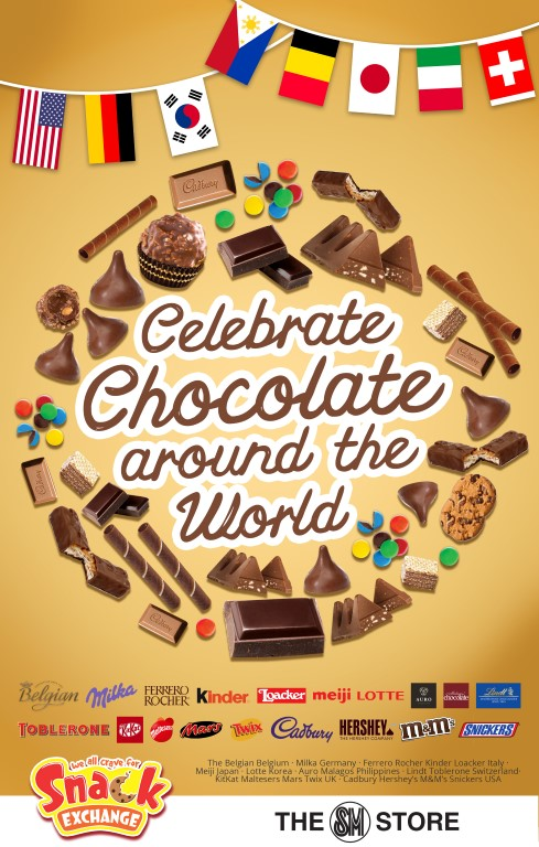 Celebrate Chocolate Around the World with SM Snack Exchange