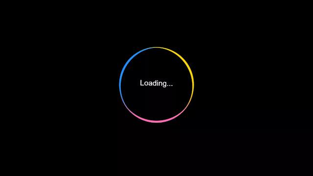 Swaying Loading Animation