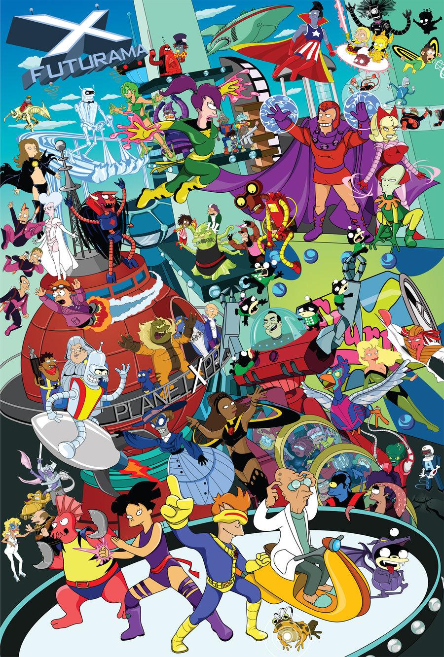 Kelly 39 s blog futurama wallpaper - Futurama wallpaper ...