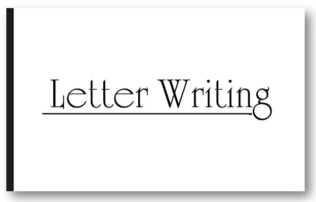Letter Writing Format in English Formal and Informal