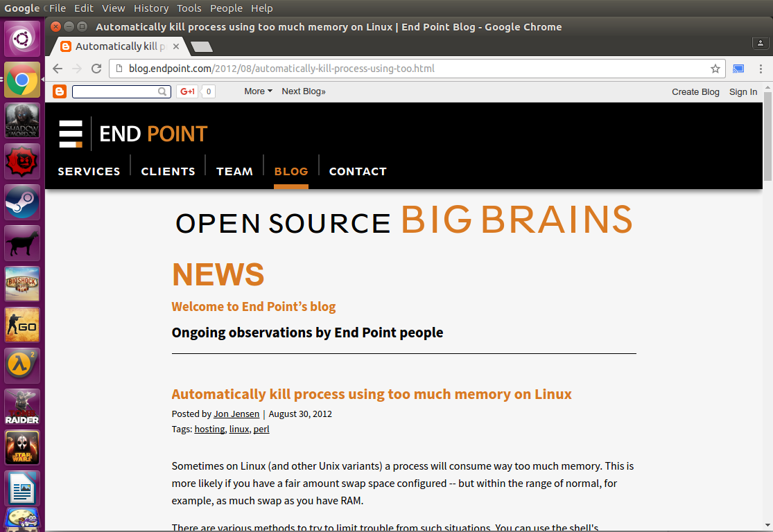 Linux + GNU = Humans Enabled: (Updated) Chrome Browser