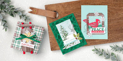 3 Alternative Winter Gifts Projects ~ Stampin' Up! Paper Pumpkin November 2019