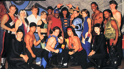 Mortal Kombat: the Live Tour - Cast