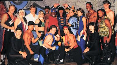 Mortal Kombat: the Live Tour - Cast